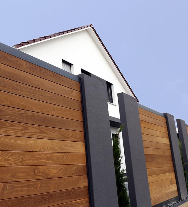 pose de clôture sur Troyes