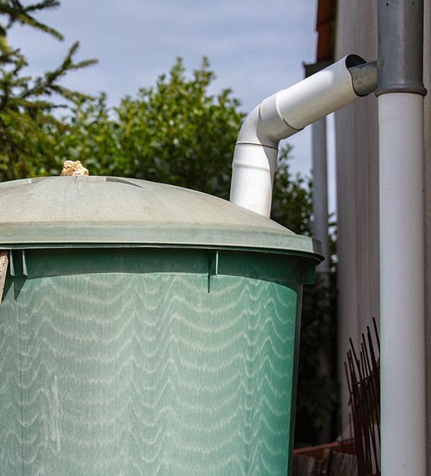 récupération des eaux pluviales à Troyes